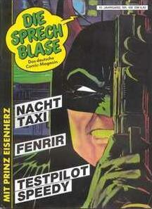 Sprecblase Cover