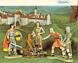 Prinz Eisenherz und Gawain, Elastolin Katalog